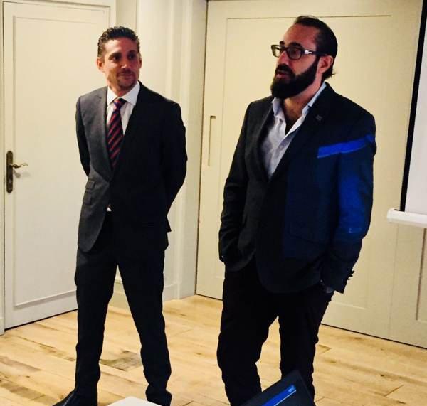 Marcos Barón y Jorge Barón