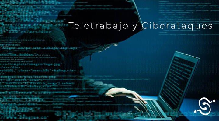 teletrabajo y los ciberataques